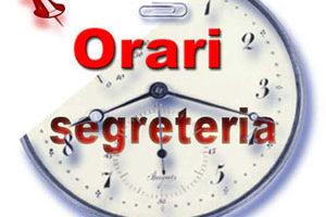 ATTENZIONE: Variazione Orari di apertura della Segreteria provinciale