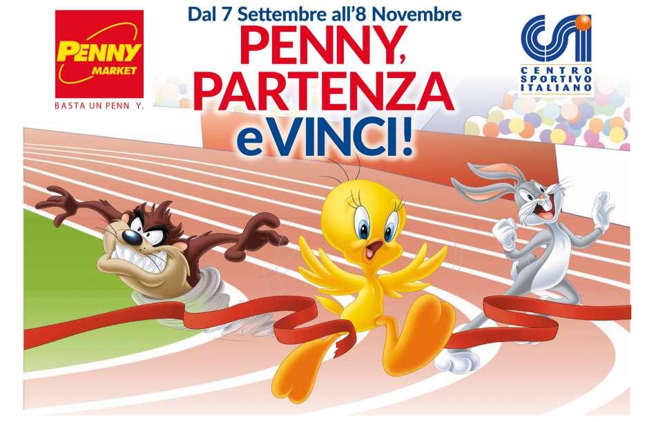 """""""Penny, Partenza e Vinci!"""" – Iniziativa promossa da Penny Market insieme al CSI"""