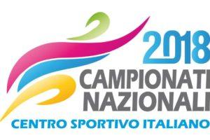 Campionati nazionali: ecco il logo dell'edizione 2018