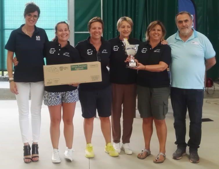 GAMBARA A Campione provinciale Tennis a squadre femminile