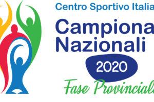 Conclusione anticipata campionati provinciali 2019-2020