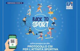 """Aggiornamento del Protocollo """"Back to Sport"""""""